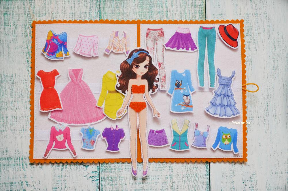 кукла с кухней