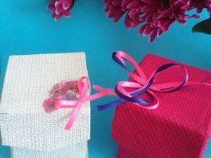 Мастерим подарочную коробочку с цветами. Ярмарка Мастеров - ручная работа, handmade.