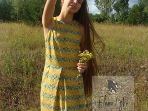 Платье нарциссы. Ярмарка Мастеров - ручная работа, handmade.
