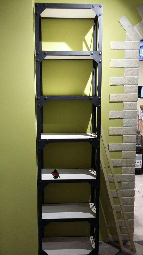 мебель для маркета, купить стеллаж лофт