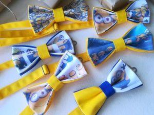 Бабочки с миньонами | Ярмарка Мастеров - ручная работа, handmade