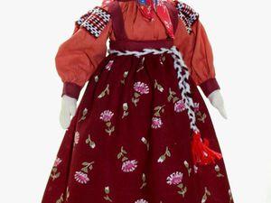 Шьем простую текстильную куколку своими руками. Ярмарка Мастеров - ручная работа, handmade.