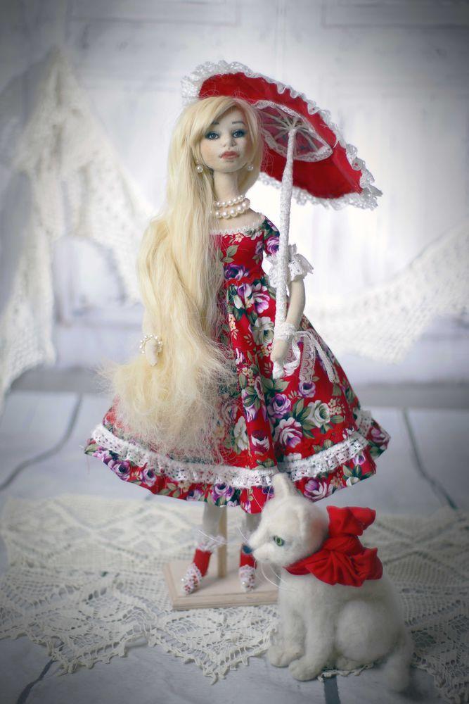 игровая кукла, авторская работа