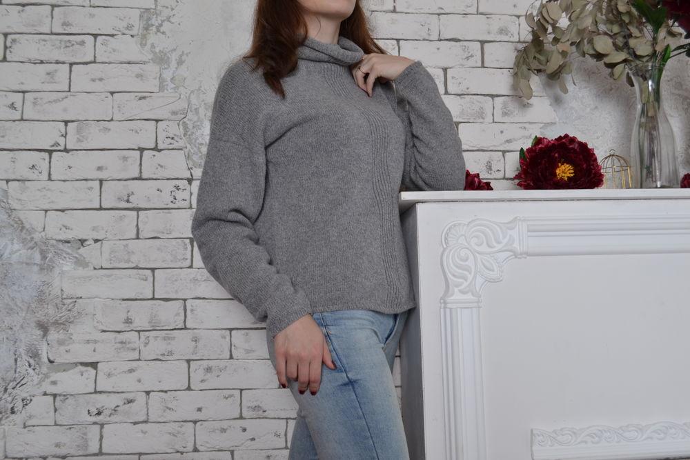 свитер вязаный, мода