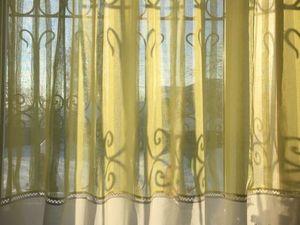 Новый тюль ждет свою хозяйку!. Ярмарка Мастеров - ручная работа, handmade.