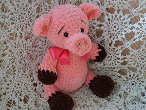 Аукцион на плюшевую свинку. Ярмарка Мастеров - ручная работа, handmade.