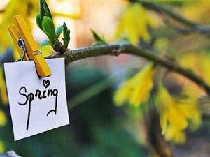 """Конкурс коллекций магазина Alex-decor """"Весна какая выдалась, какие дни настали."""". Ярмарка Мастеров - ручная работа, handmade."""
