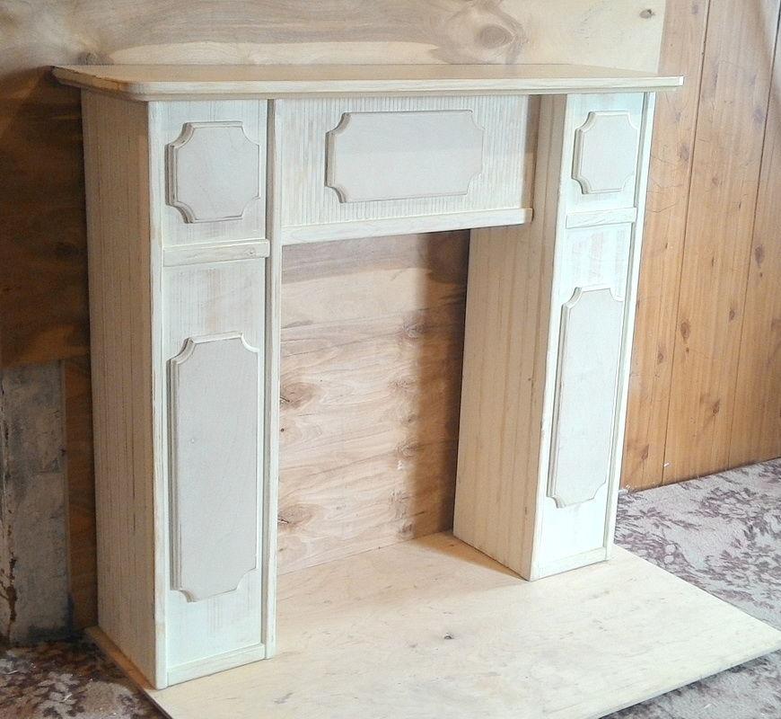 портал, состаренная древесина