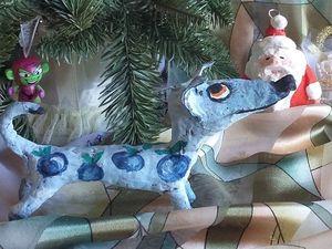 Прием Заказов на Ёлочные Игрушки из папье-маше. Ярмарка Мастеров - ручная работа, handmade.