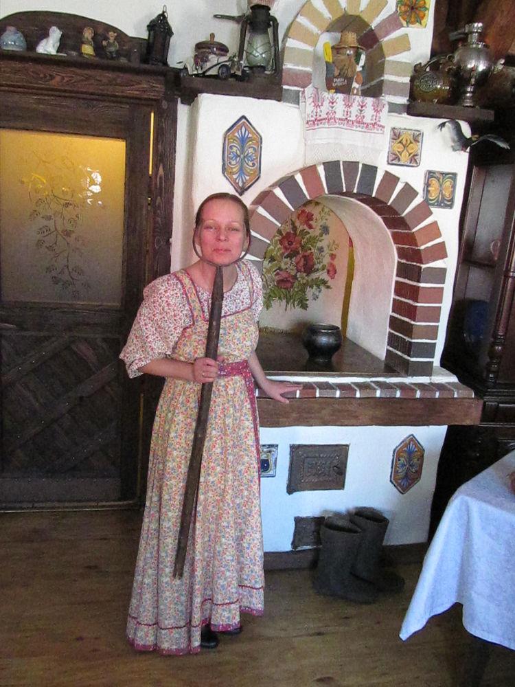 юмор, праздник, день работника культуры, печка, сарафан, традиция, русский стиль, русский костюм