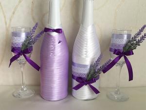 Рекомендации по уходу за декорированными бутылочками и бокалами   Ярмарка Мастеров - ручная работа, handmade