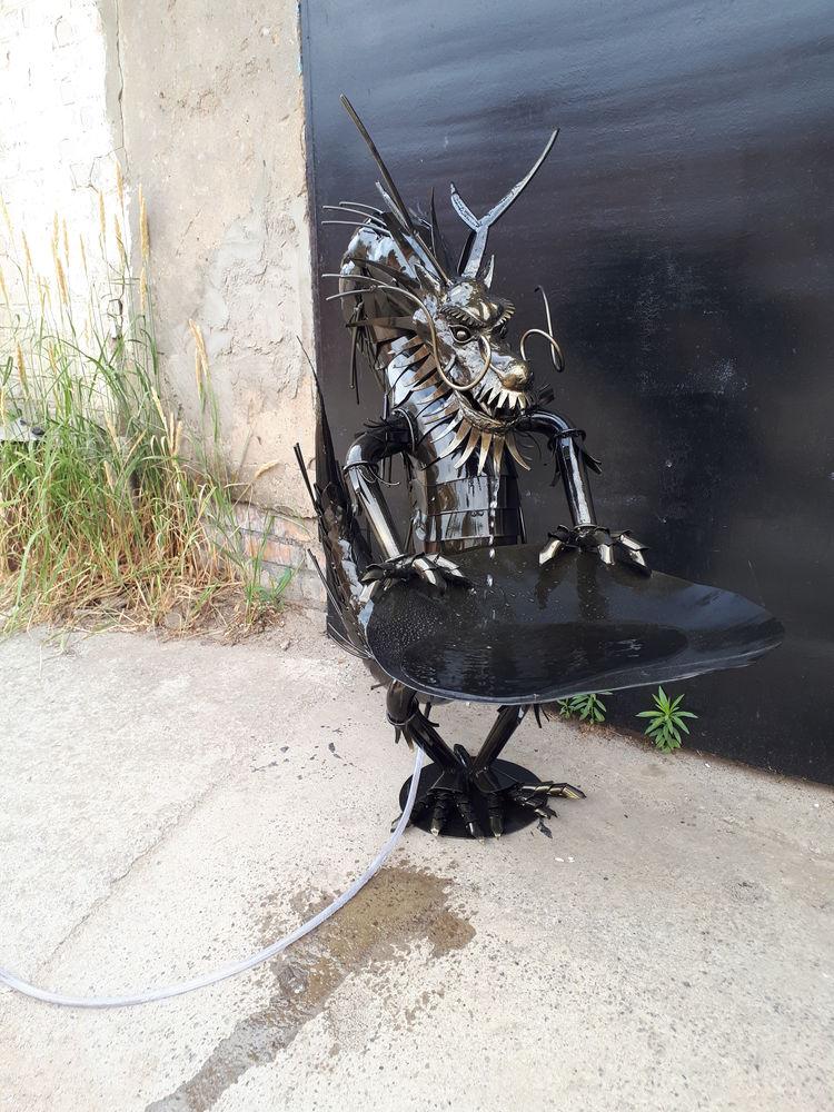 дракон, металл