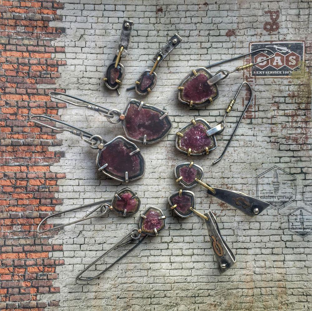 серьги с турмалинами, турмалины, турмалин в серебре, екатеринбург, анонс