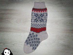 Марафон носков, четвертый день.. Ярмарка Мастеров - ручная работа, handmade.