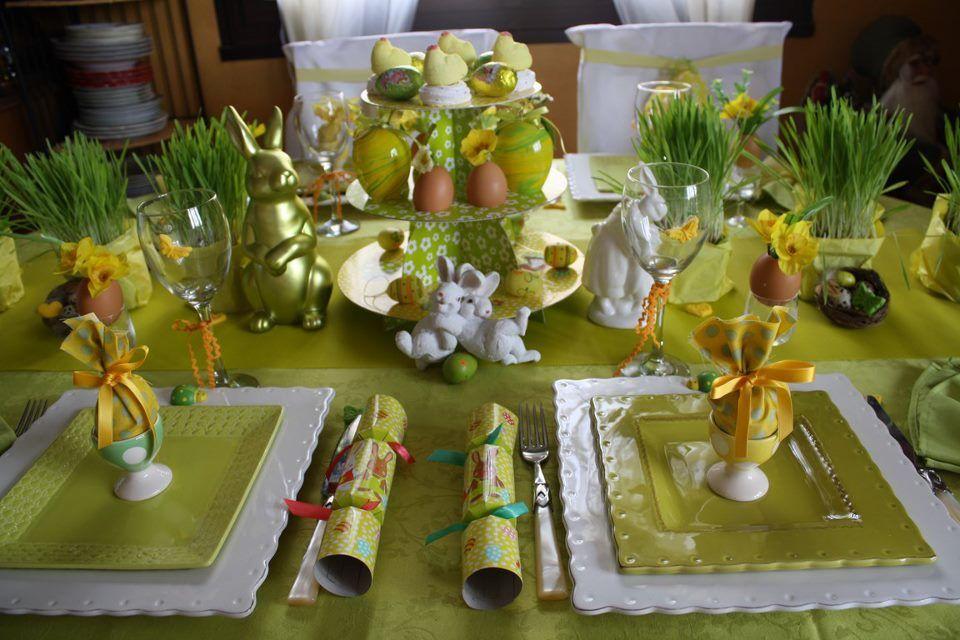Декор для праздничного стола своими руками