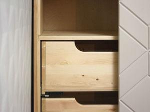 Шкаф купе из массива дерева в современном стиле. Ярмарка Мастеров - ручная работа, handmade.
