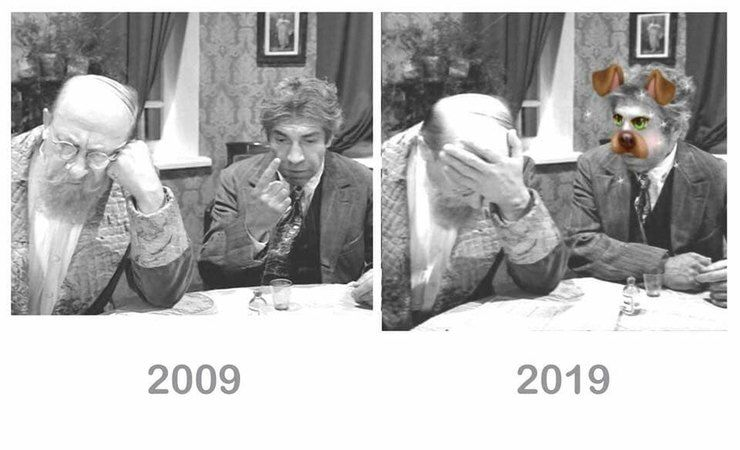 10yearschallenge: самые смешные мемы флэшмоба «Я 10 лет назад»