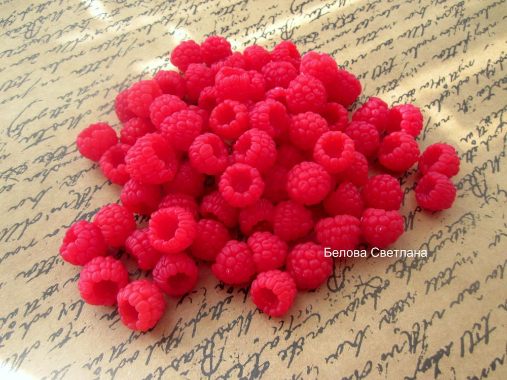 Simple and Easy: Raspberries from Polymer Clay, фото № 7