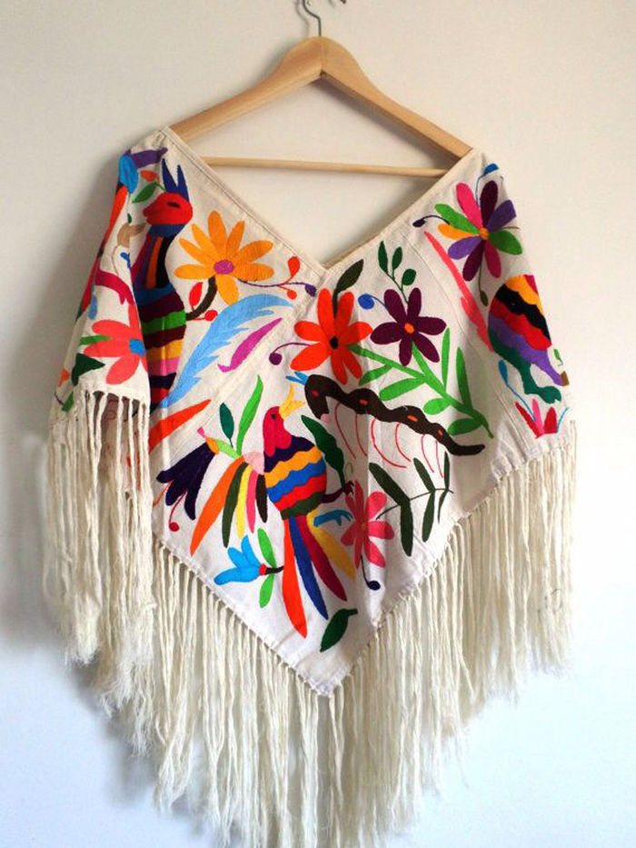 embroidery of tenango, ideas for interior