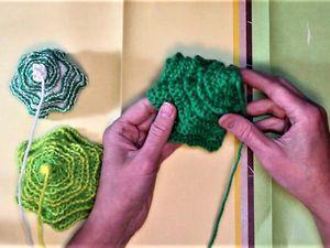 Видео мастер-класс: «Новогодняя елочка» спицами. Ярмарка Мастеров - ручная работа, handmade.