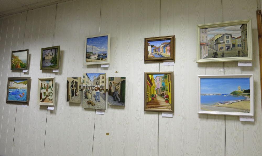 персональная выставка, выставка в красногорске