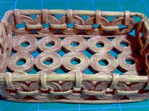Как сделать корзинку из газетных трубочек: видеоурок. Ярмарка Мастеров - ручная работа, handmade.