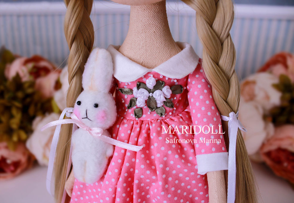 купить подарок для дочери, купить интерьерная кукла