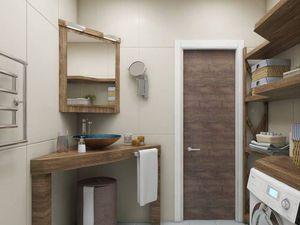 Просто и со вкусом - ванная комната из массива дерева   Ярмарка Мастеров - ручная работа, handmade