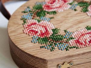 Турецкая рукодельница Merve Burma создает удивительные деревянные сумочки с вышивкой. Ярмарка Мастеров - ручная работа, handmade.