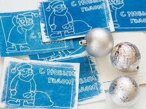 Новогодние открытки, анонс вебинара. Ярмарка Мастеров - ручная работа, handmade.