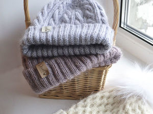 Какая шапка по вкусу вам?. Ярмарка Мастеров - ручная работа, handmade.