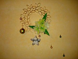 Создаем необычный рождественский венок. Ярмарка Мастеров - ручная работа, handmade.