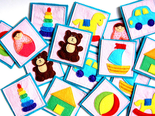Игра Мемори | Ярмарка Мастеров - ручная работа, handmade