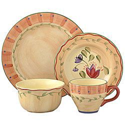 @Overstock.com - Enhance your dining experience with Pfaltzgraff Napoli 48-piece dinnerware set   Casual dinnerware is a subtly decorated hand-painted collection  Dinnerware features shades of pale orange, yellow and more<a href=