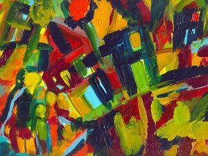 Знаменитые художники-абстракционисты. Кандинский. Ярмарка Мастеров - ручная работа, handmade.