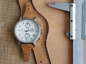 Необходимые замеры для заказа ремешка на ваши часы.. Ярмарка Мастеров - ручная работа, handmade.