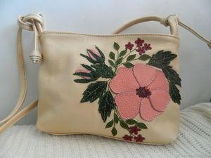 Аукцион с 0 на кожаную сумочку №2. Ярмарка Мастеров - ручная работа, handmade.