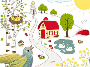 Сказка на ночь про птичку Пеночку и ее волшебное пёрышко | Ярмарка Мастеров - ручная работа, handmade