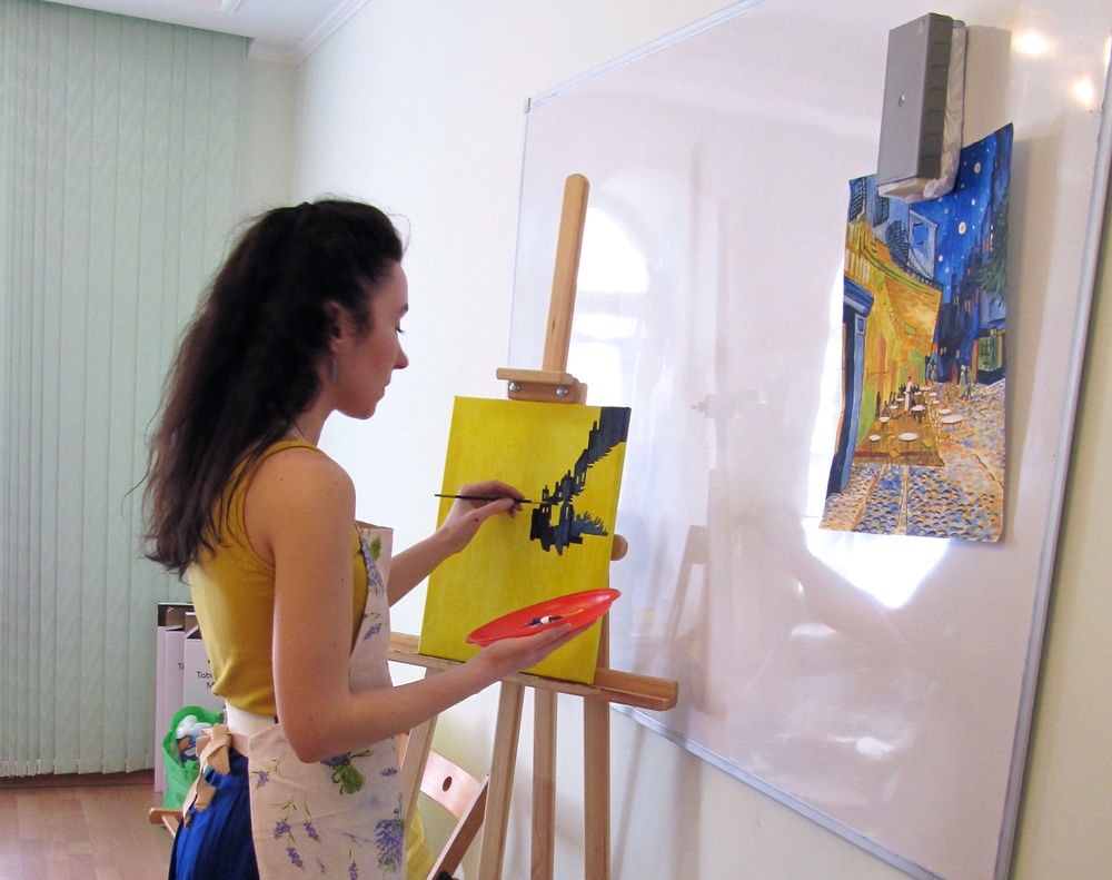 творческая студия, винсент ван гог
