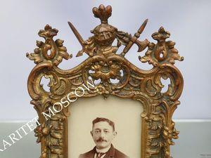 Рамка БОЛЬШАЯ фото зеркало ангел бронза золото 61. Ярмарка Мастеров - ручная работа, handmade.