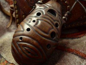 Звучание окарины Африка. Ярмарка Мастеров - ручная работа, handmade.