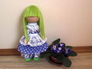 Шьем бюджетную куколку | Ярмарка Мастеров - ручная работа, handmade