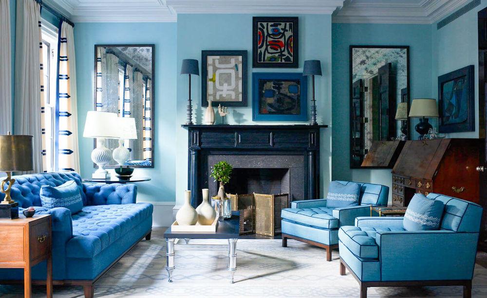 Как синий цвет влияет на нашу жизнь?