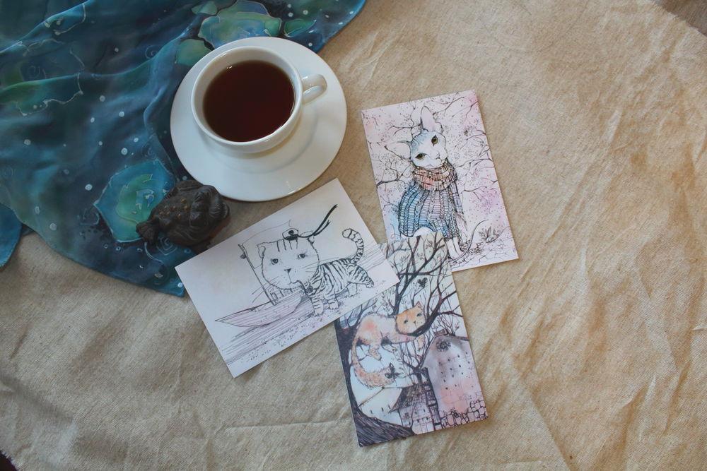 открытки, для девушки, owl