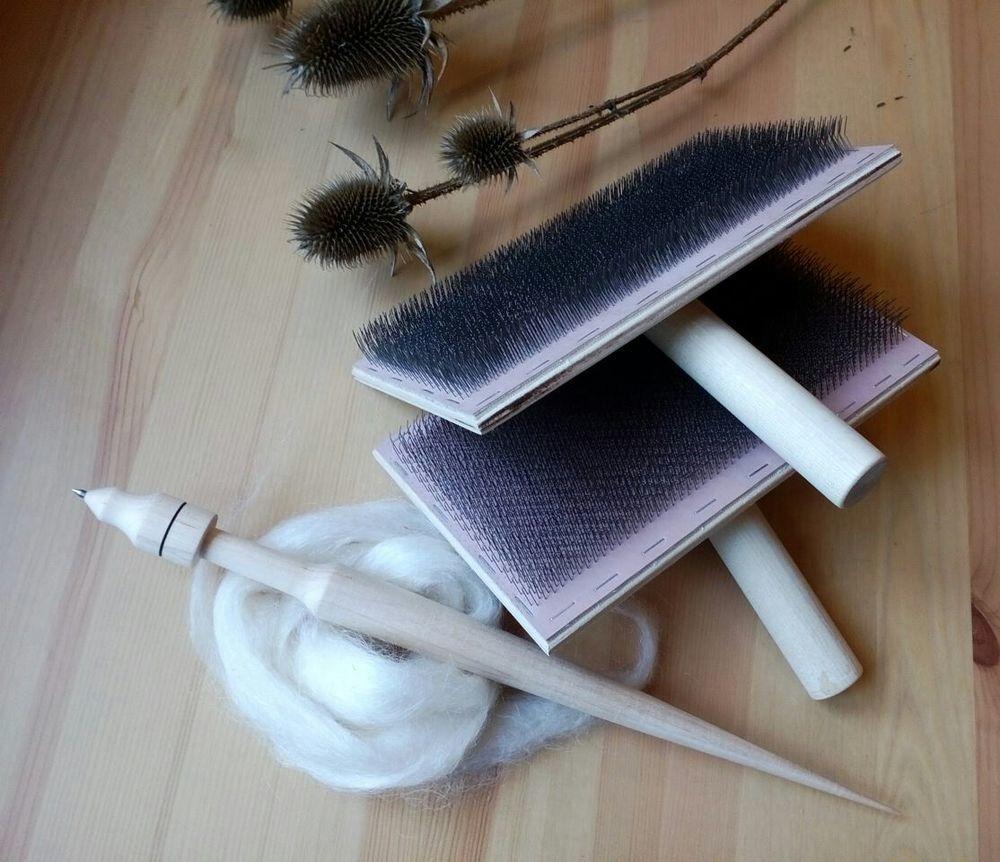 пряжа ручной работы, обучение прядению