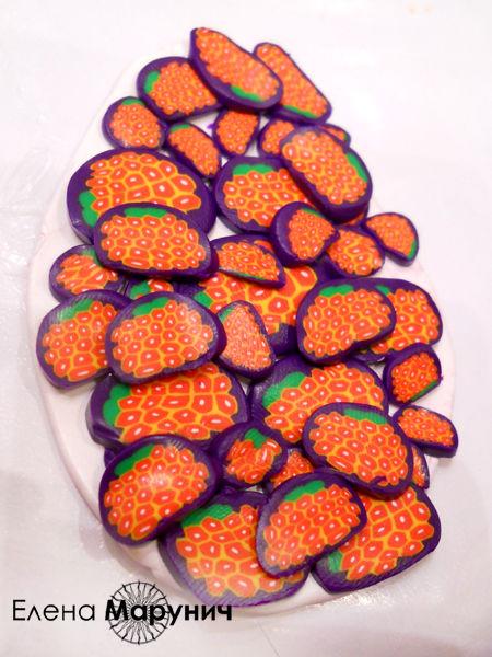 полимерная глина уроки для начинающих, полимерная глина для начинающих, полимерная глина цветочная трость, бусы из полимерной глины,  бусы из пластики, мильфиори, миллефиори, millefiori, миллефиори полимерная глина, украшения своими руками, мастер-класс по полимерной глине