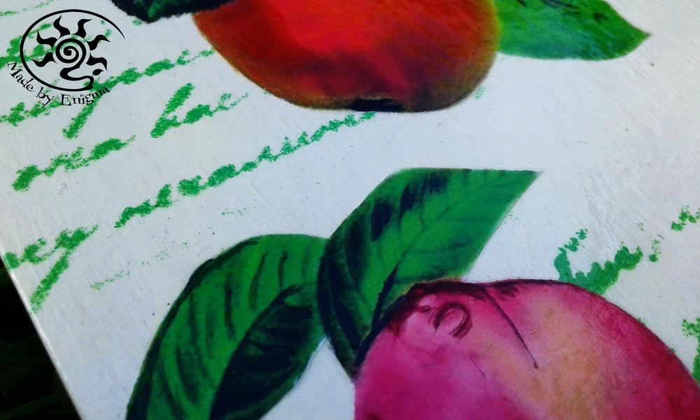 фрукты, летний, сад