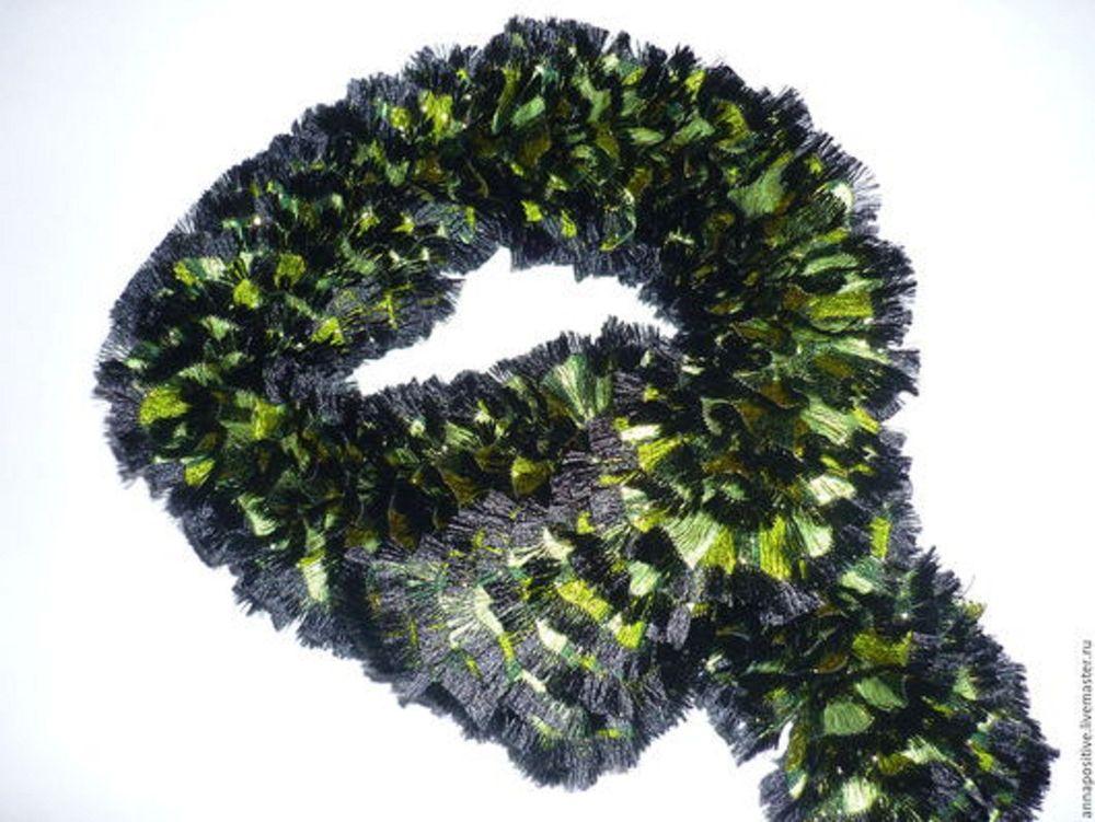 работа на заказ, шарфы женские, вязаные шарфы