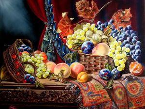 Видеообзор картины Голландский натюрморт с двумя корзинами. Ярмарка Мастеров - ручная работа, handmade.