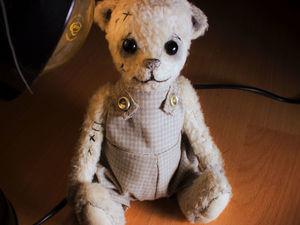 Шьем штанишки для мишки Тедди. Ярмарка Мастеров - ручная работа, handmade.